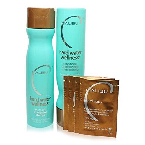 malibu hair treatment for iron malibu hard water wellness treatment kit 9 oz shoo 9