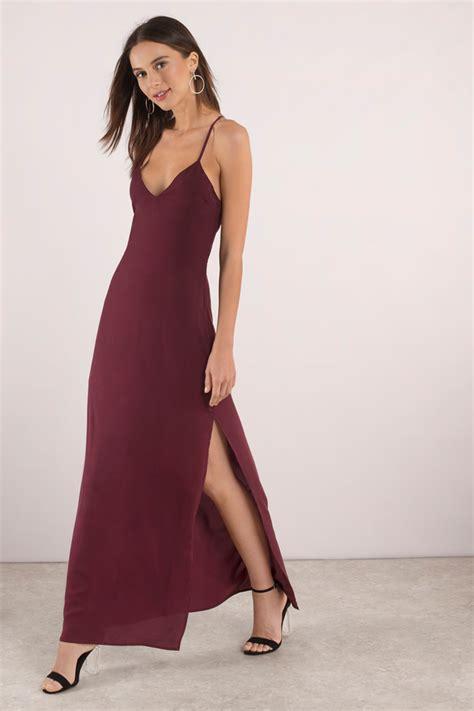Channel Maxi Dress by Trendy Black Dress Lace Up Dress Dress Maxi