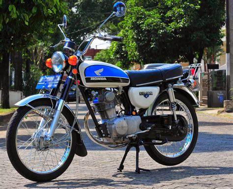 Modifikasi Motor Classic by 70 Gambar Modifikasi Honda Cb100 Klasik Antik Otomotif