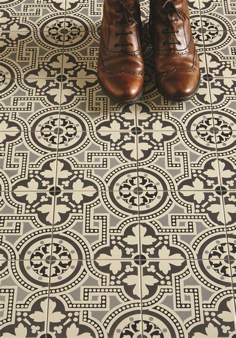 Herringbone Tile Floor Kitchen - original style extends geometric victorian floor tile collection heart home