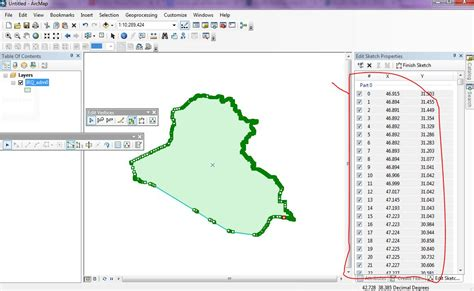 using get image and image with arcmap image services esri arcmap how to get x y coordinates of all vertices from
