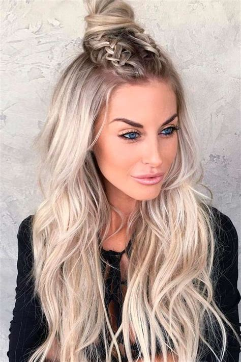 going out hairstyles for long fine hair peinados con pelo suelto y trenzas peinados lindos y faciles