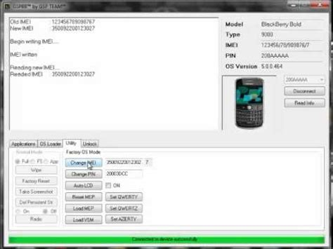 reset blackberry pin change blackberry pin and imei with gspbb youtube