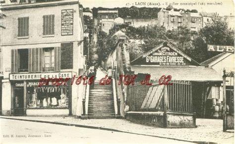 garage marcel laon cartes postales anciennes et photos de laon
