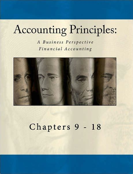 libro the principles of equity accounting principles a business perspective financial accounting chapters 9 18 an open