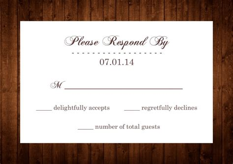 how to do rsvp cards for wedding invitations wedding invitation wording rsvp vertabox
