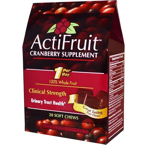 Suplemen Cranberry Enzymatic Therapy Actifruit Cranberry Supplement 20