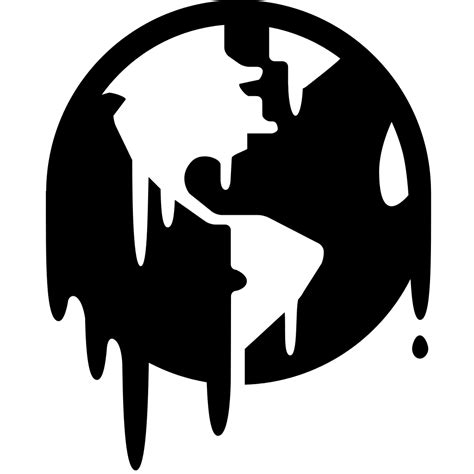 chagne silhouette png file global warming icon noun project 4963 svg