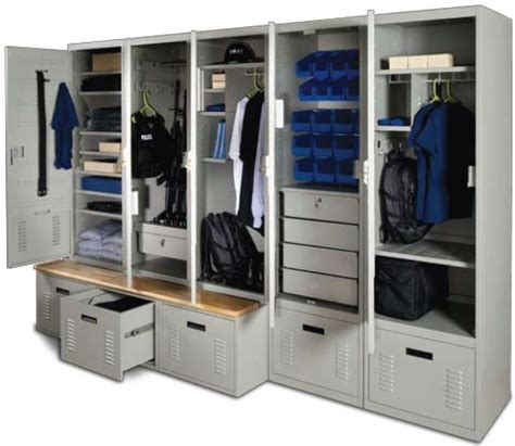 personal gear locker is finished in high quality powder