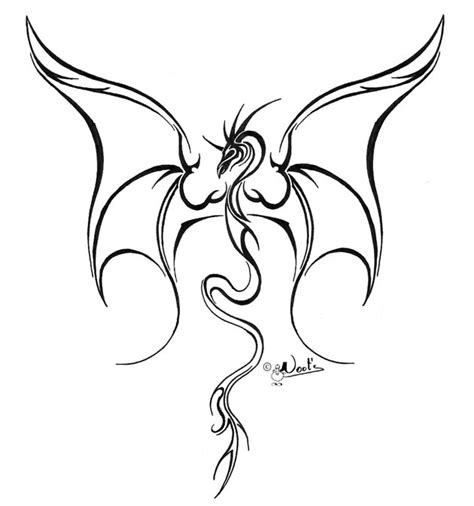 tattoo outline tattoo outlines pinterest tattoo dragon tattoo outline pictures to pin on pinterest