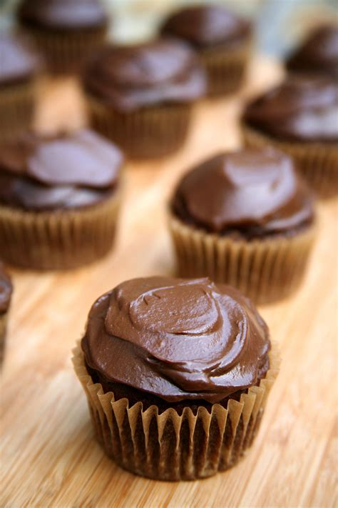 best vegan chocolate cupcake recipe vegan chocolate cupcakes popsugar fitness