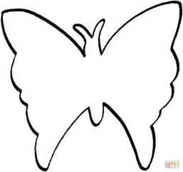 Ausmalbild Schmetterling Umriss  Ausmalbilder Kostenlos Zum sketch template
