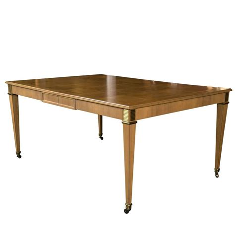 Baker Furniture Dining Table Baker Furniture Dining Table For Sale At 1stdibs