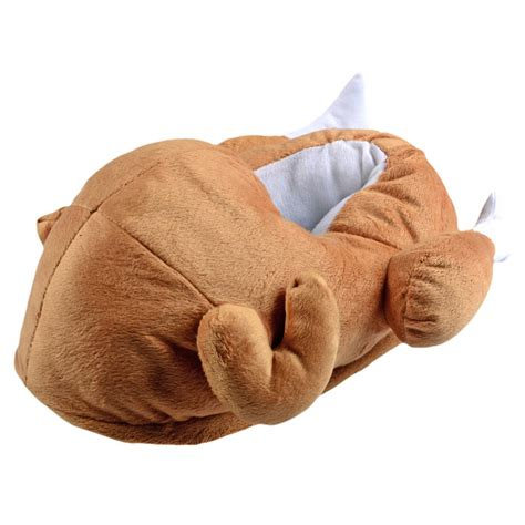 silly slippers unisex novelty turkey slippers with non