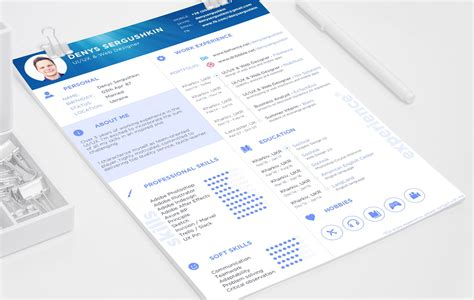resume template free psd free resume template psd sketch free psd ui