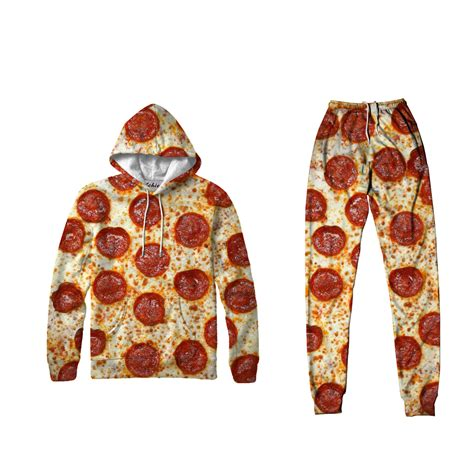 Set Hodie pizza hoodie set custom design your sweater
