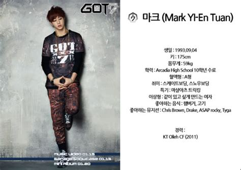 got7 kprofiles jyp entertainment reveals profiles and statements from