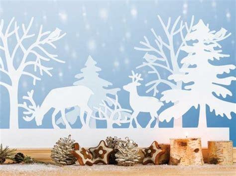 Fensterdeko Weihnachten Bilder by Fensterbilder Zu Weihnachten Originelle Bastelideen Zum