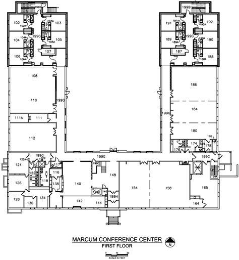 Open Floor House Plans One Story floor plans the marcum hdrbs miami university