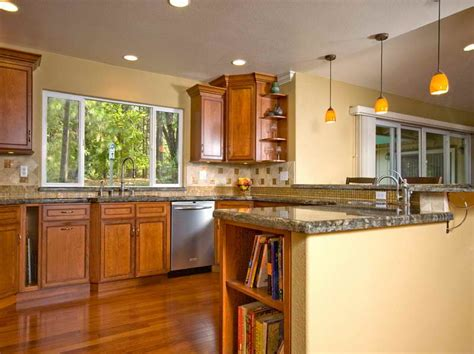 kitchen wall color ideas kitchen color ideas for kitchen walls with wood cabinet