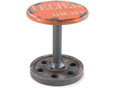 moe s home collection white wheel stool hu 1030 18