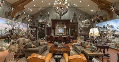 big trophy rooms these 11 hunters trophy rooms are completely