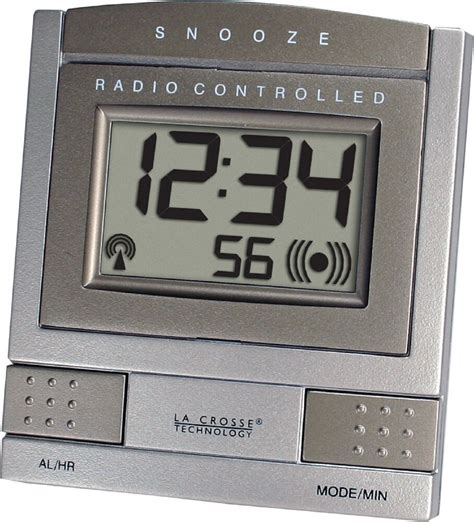 wt 2171u bz la crosse technology atomic digital travel alarm clock bronze ebay
