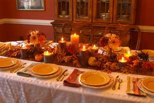 Mixed Dining Room Chairs Fall Themed Decorating Table For Thanksgiving In Large