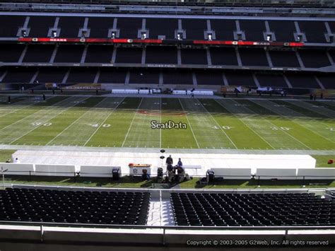 section 237 a 1 b soldier field section 237 chicago bears rateyourseats com