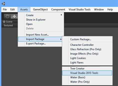 tutorial unity visual studio getting started with visual studio tools for unity