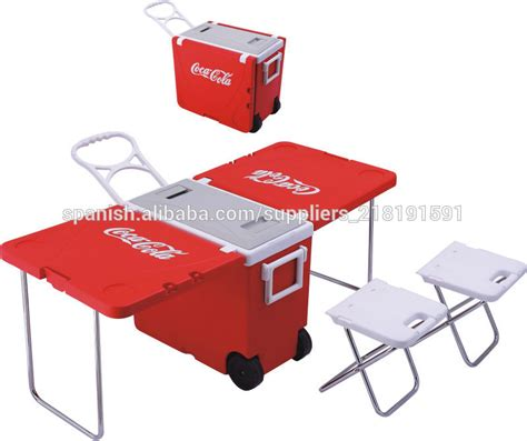 Collapsible Chair mesa plegable caja de refrigerador mesa multifuncional