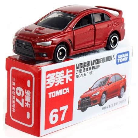 Takara Tomica 67 Mitsubishi Lancer Evolution X 1 61 3 28pcs With takara tomy tomica 67 mitsubishi lancer evolution x diecast model car mohock new zealand