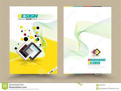 page design ideas vector brochure flyer design layout template line style