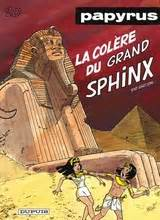 Papyrus Anger Of The Great Sphinx V 5 european comics and graphic novels in series papyrus