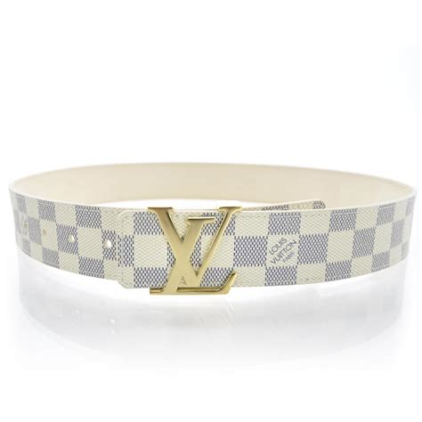 Cowhide Leather Bag Louis Vuitton Damier Azur Lv Initials Belt 80 32 31791
