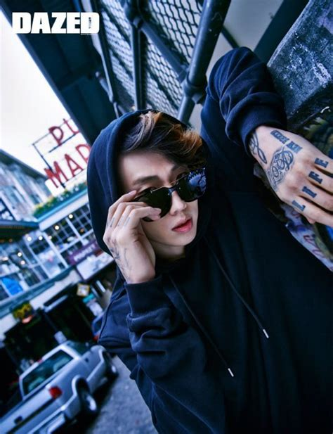 tattoo eyewear korea jay park shows off eyewear and his tattoos for dazed and