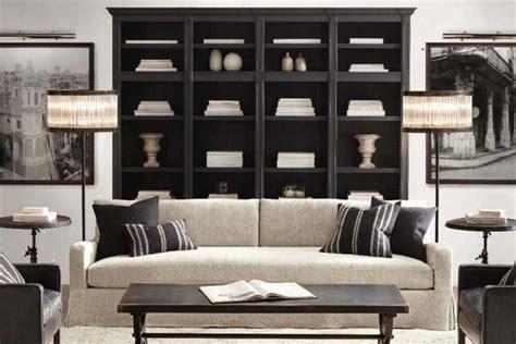 salotto con libreria arredare con le librerie foto design mag