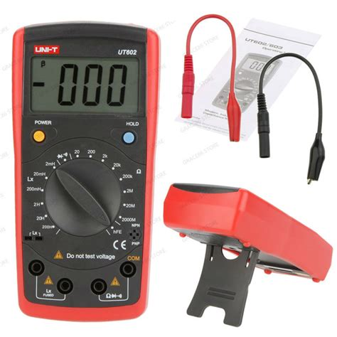 how to check inductor on multimeter uni t ut 602 digital multimeter capacitance inductance 2mh 200h lr tester gb0640 in multimeters