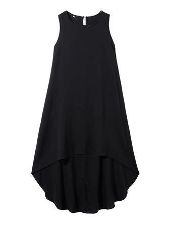 Id 676 White Irregular Dress sleeveless o neck irregular hem dress white dress at banggood sold out