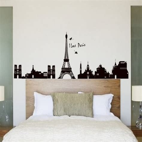 como decorar mi cuarto con la torre eiffel compra paris room decor online al por mayor de china