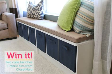 closetmaid bench closetmaid bench organizers i like the idea of putting