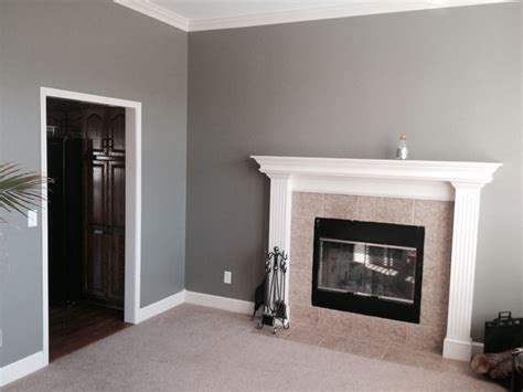 gray walls contemporary living room behr squirrel the after 1 the color is called squirrel by behr paint