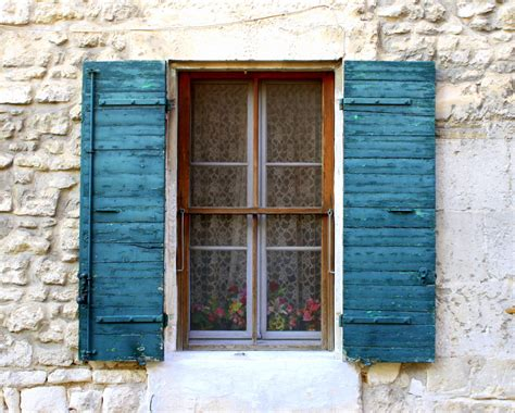 country shutters provence country decor distressed shutters