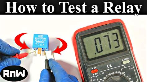 how to m how to test a relay the correct way youtube