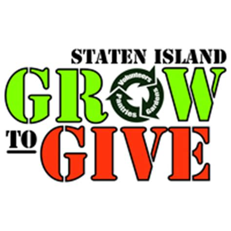 Staten Island Food Pantry by Staten Island Grow To Give Organization Holds A Garden