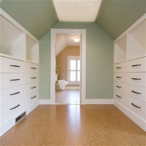 Slanted Ceiling Closet Design by Sloped Ceiling Design For The Home