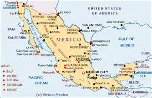 map mexico west coast mexico driving distance calculator map for mexico