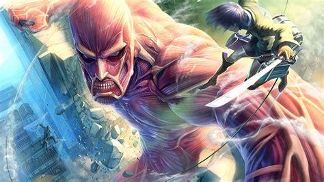 wallpaper anime hd attack on titan attack on titan hd wallpaper picture image