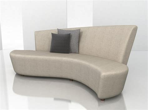 small curved sofas how to choose the small curved sofa design for small space