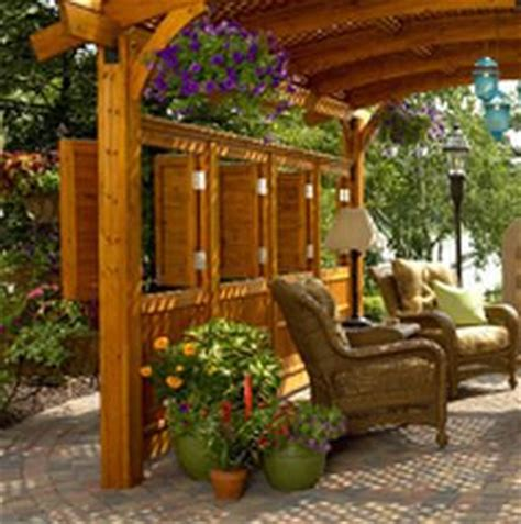 great outdoor room outdoor great room sonoma pergola panel sonoma12 r wall